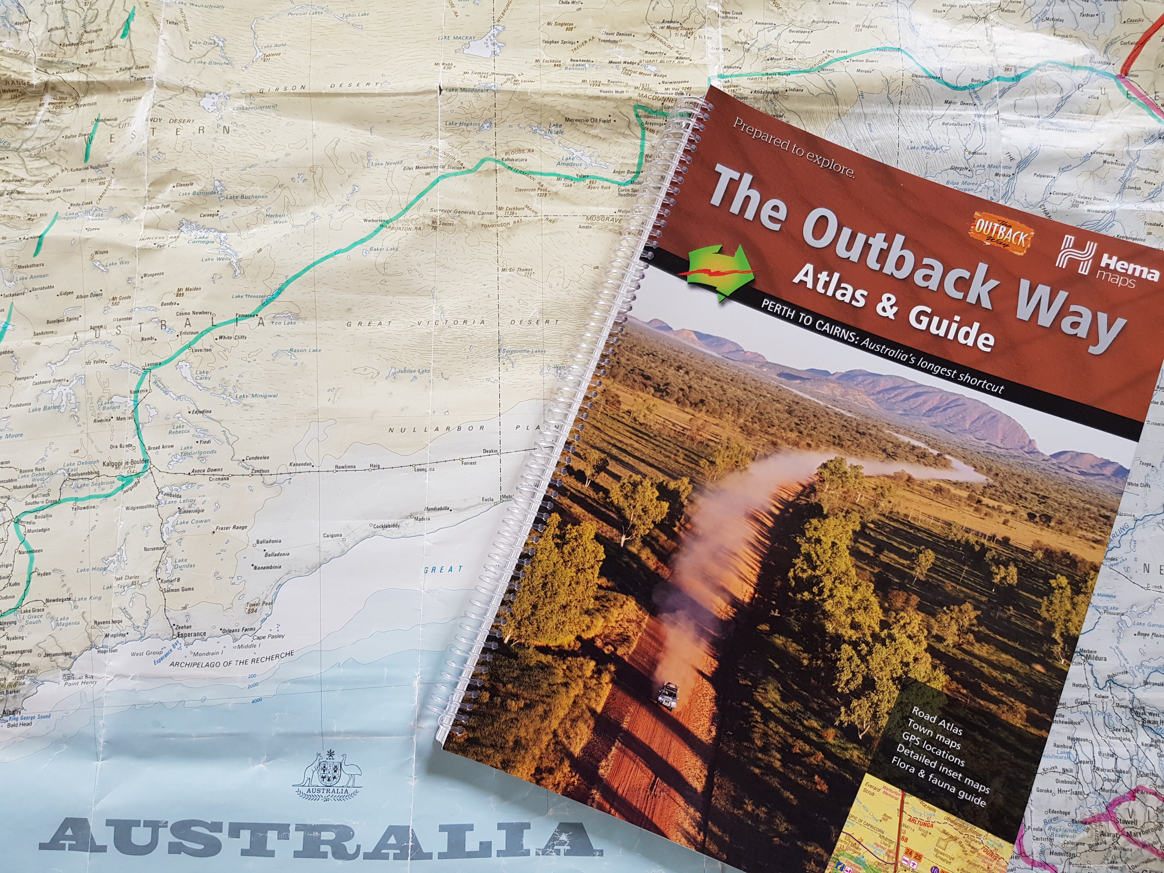 Read Outback Way Atlas and Guide: Perth to Cairns Ebook ...